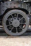 蒸汽机车飞行员卡车轮子 免版税库存图片