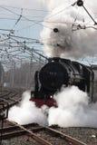 蒸汽机车46115苏格兰语卫兵, Carnforth 免版税库存图片