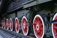 蒸汽机车 免版税库存照片