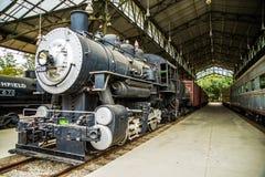 蒸汽机车 库存图片