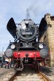 蒸汽机车Borsig 03 2155-4 (DRG类03) 免版税库存图片