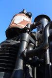 蒸汽机车D4 268 免版税库存照片