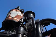 蒸汽机车D4268 免版税库存图片