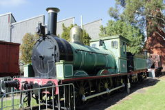蒸汽机车T94 库存图片