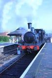 蒸汽火车 库存照片