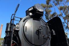 蒸汽火车K165 库存图片