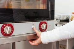 蒸汽烤箱 图库摄影