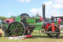 蒸汽牵引车路辗 免版税库存图片