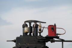 蒸汽牵引车 免版税库存照片
