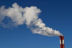 蒸汽管 库存图片