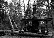 蒸汽起重机 免版税图库摄影