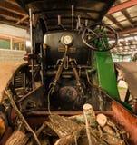 蒸汽路辗小室 免版税库存照片