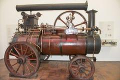 蒸汽locomobile德国博物馆慕尼黑 免版税库存照片