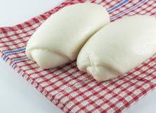 蒸的面包 免版税库存图片