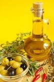 蒸馏瓶油 库存图片