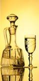 蒸馏瓶 免版税库存图片