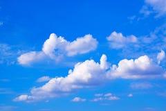 蓝天和云彩背景171019 0209 免版税库存照片