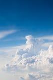 蓝天和白色云彩 免版税图库摄影