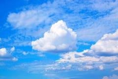 蓝天有云彩背景171019 0210 库存图片