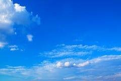 蓝天有云彩背景171019 0234 库存图片