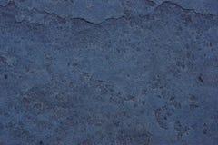 蓝宝石页岩纹理 免版税库存图片