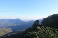 蓝山山脉新南威尔斯,澳大利亚 库存照片