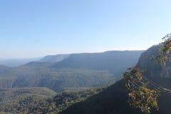 蓝山山脉新南威尔斯,澳大利亚 免版税库存照片