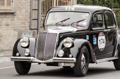 蓝旗亚Aprilia Berlina 1500 1949年 免版税库存照片
