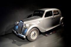 蓝旗亚Apriliaat Museo dell'Automobile的Nazionale 免版税库存照片
