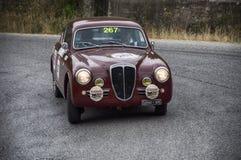 蓝旗亚Aurelia B20 GT 2500 berlinetta Pinin淀粉1953年 免版税库存照片