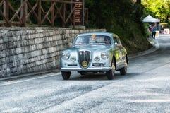 蓝旗亚AURELIA B20 GT 2500 IV SERIE 1955年 库存照片
