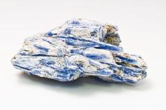 蓝晶石矿物标本 免版税库存图片
