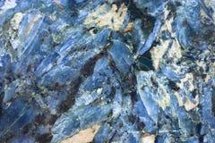 蓝晶石 免版税库存照片