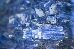 蓝晶石 图库摄影