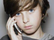 蓝眼睛男孩 库存图片