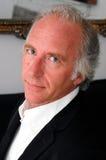 蓝眼睛的英俊的人 免版税库存照片