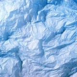 蓝纸丝绸 免版税库存图片
