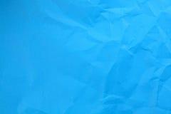蓝纸纹理 免版税库存图片