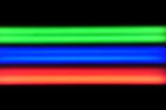 蓝绿色红色rgb 免版税库存照片