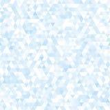 蓝色三角摘要背景 向量例证