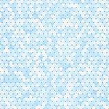 蓝色三角无缝的马赛克背景 向量例证