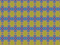 蓝色三角 免版税图库摄影