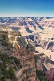 蓝色下峡谷全部天空 图库摄影