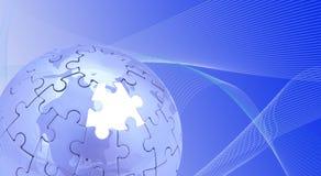 蓝色世界 免版税图库摄影