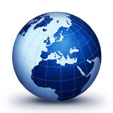 蓝色世界 向量例证