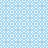 蓝色东部模式 库存例证