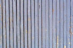 蓝色五颜六色的墙壁木头 免版税库存照片