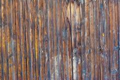 蓝色五颜六色的墙壁木头 图库摄影