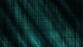 蓝色亮光丝绸波浪背景概念 向量例证