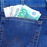 蓝色企业关闭colldet6117收集com概念美元dreamstime财务熟悉内情的href http图象牛仔裤货币更多我新的请口袋卷事宜访问被佩带的万维网 库存图片